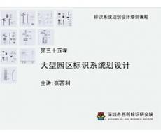 标识系统规划设计培训课程 第三十五课 大型园区标识系统划设计