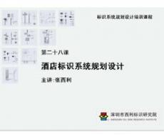 标识系统规划设计培训课程 第二十八课 酒店标识系统规划设计